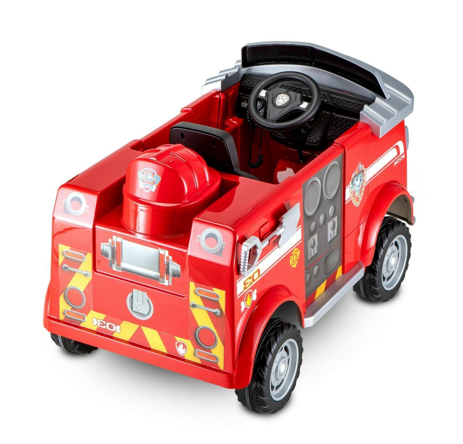 Paw On Car Kids Driveable Boys