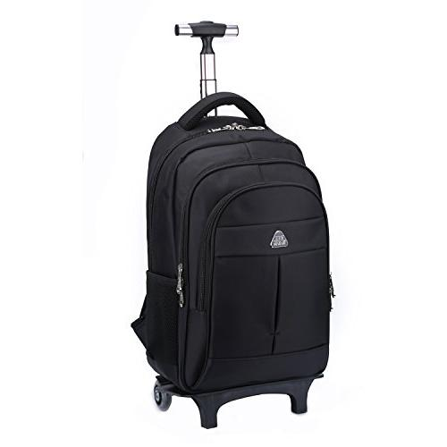 wheeled backpack lightweight portable carry