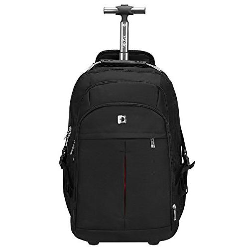 wheeled backpack rolling carry luggage