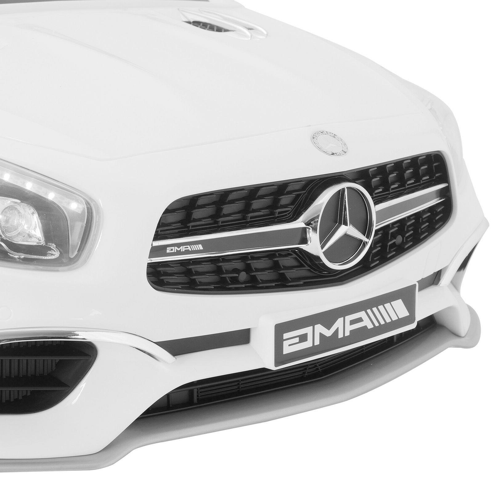 White Benz Electric Ride Control MP3