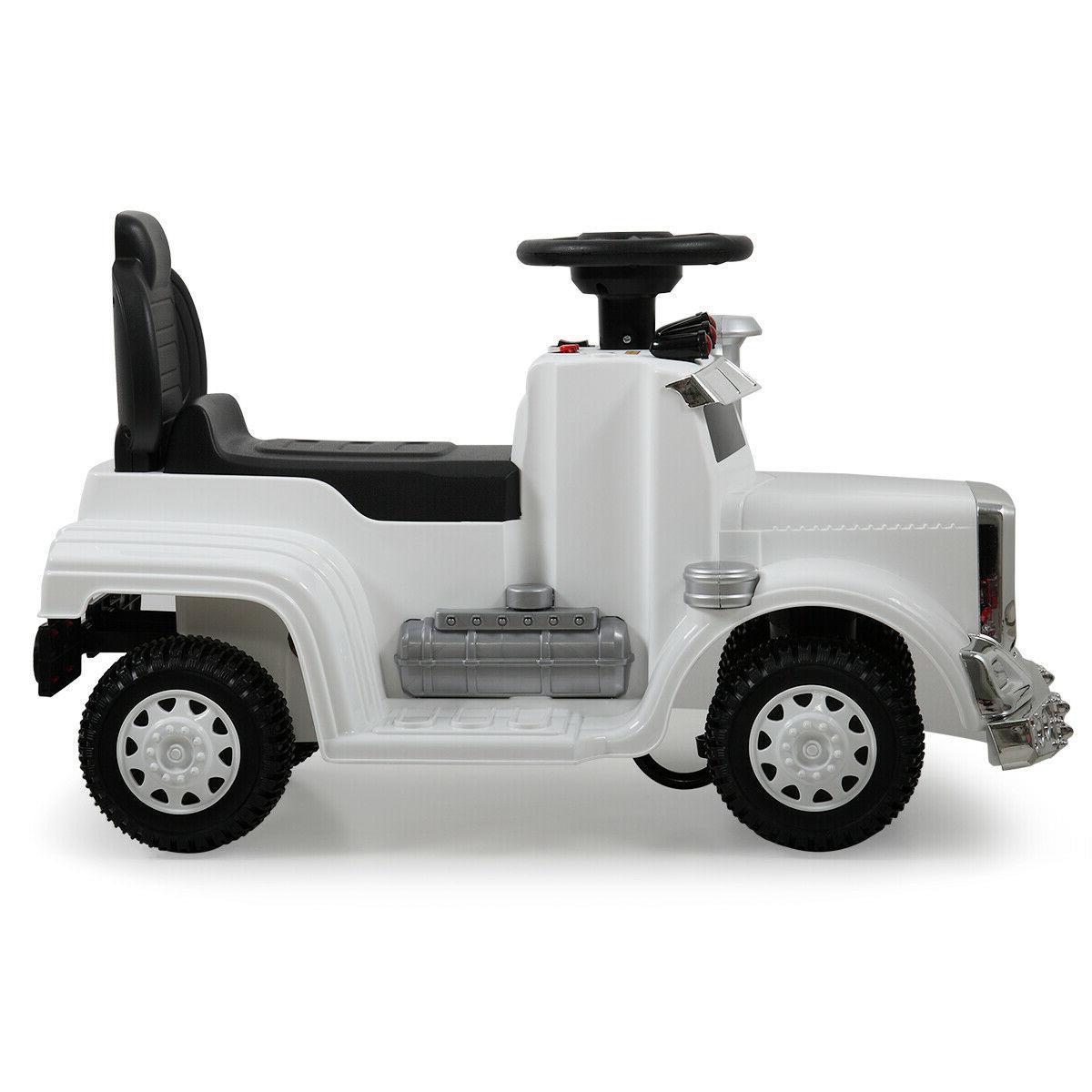 White Ride Car MP3