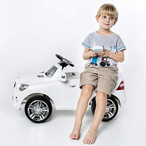Costzon Mercedes ML350 Ride Car MP3 RC Remote