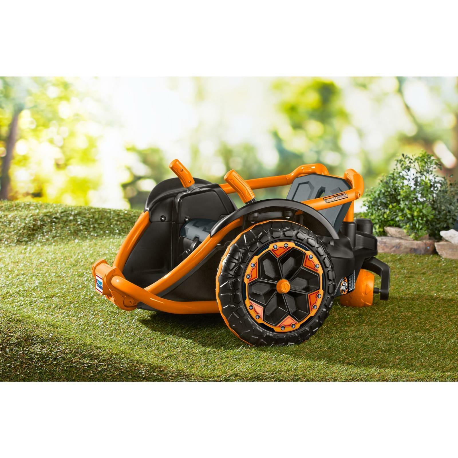 Power Wild 12 Volt Battery Ride On Orange