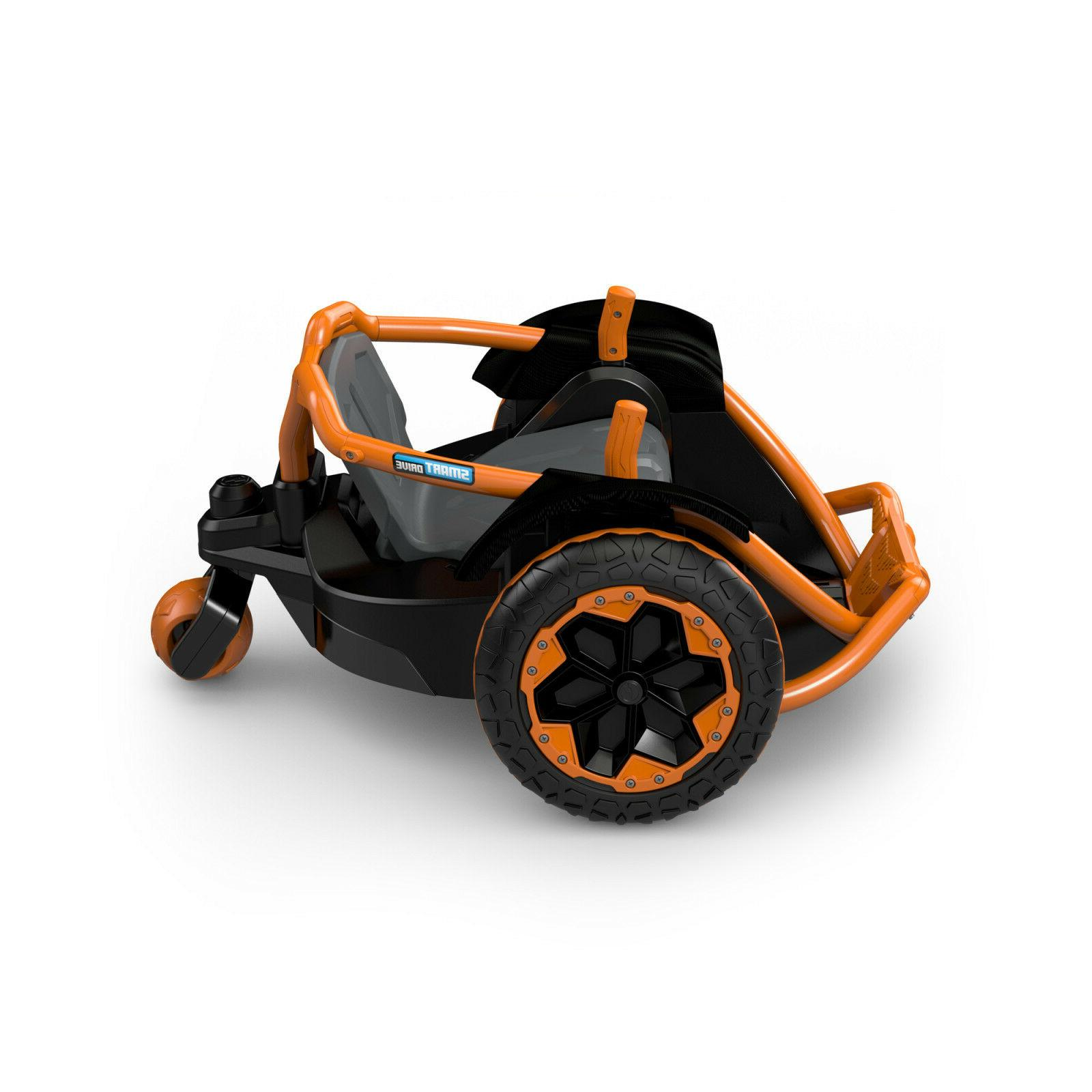 Power 12 Volt Powered Ride On Vehicle Orange