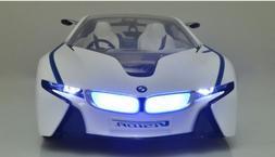 Licensed BMW i8 Concept Vision Efficient RC Car MJX 1:14 Rem