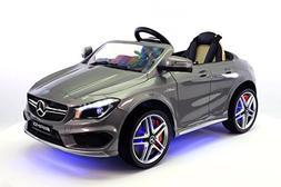 Moderno Kids Licensed Mercedes CLA45 12V Kids Ride-On Car MP