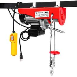 Goplus Lift Electric Hoist Garage Auto Shop Electric Wire Ho