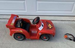 POWER WHEELS Lil Lightning McQueen Race Car Ride On Disney C
