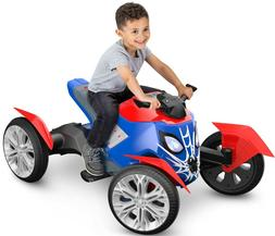 Marvel Spiderbike Ride on Toy Quad Spiderman Battery Operate