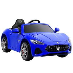 Uenjoy Maserati Grancabrio 12V Electric Kids Ride On Cars Mo