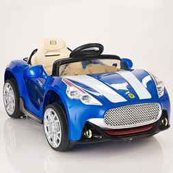 Maserati Style 12V Kids Ride On Car Battery Power Wheels Rem