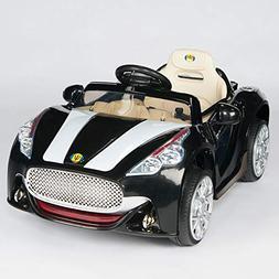 BIG TOYS DIRECT Maserati Style 12V Kids Ride On Car 12V Batt