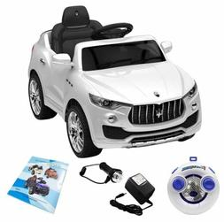 Maserati Style 12V Kids Ride On Car Electric Power Wheels Re