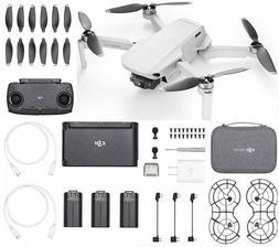 DJI Mavic Mini Fly More combo - Drone with 2.7K Camera 30 Mi
