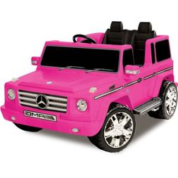 Kid Motorz Mercedes Benz G55 AMG 12 V Electric Ride On Two S