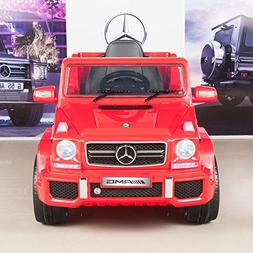 Mercedes Benz G63 12V Battery Power Ride On Car Kids Toy Tru