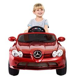 Costzon Mercedes Benz R199 12V Electric Kids Ride On Car Lic