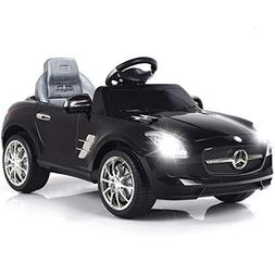 Costzon Mercedes Benz SLS Kids Ride On Car RC Battery Toy Ve