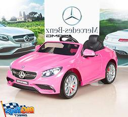 BIG TOYS DIRECT Mercedes-Benz S63 Girls 12V Battery Operated