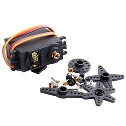 CTYRZCH MG995 Standard Mini Micro Servo Gear for RC Futaba H