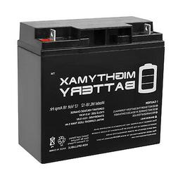 Mighty Max 12V 18AH SLA Battery Replacement works with Modif
