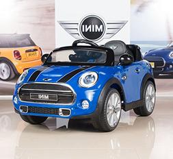 12V MINI Cooper Kids Electric Ride On Car with MP3 and Remot