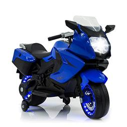 TAMCO Kids Motorcycle Electric Ride On Toy Motorcycle with L