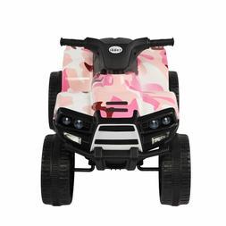 Multi-color  6V ATV Kids Ride on Car 4 wheels Electric Outdo