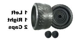 Power Wheels N1475 Barbie Cadillac Escalade EXT 2 Tires 1 Le