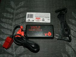 NEW POWER WHEELS 6V QUICK CHARGER RED 00801-1484 H7456