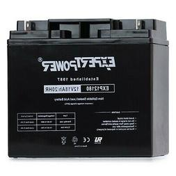 New ExpertPower EXP12180 12 Volt 18 Ah Rechargeable Battery