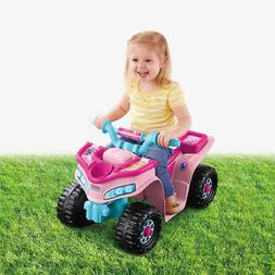 new fisher price barbie princess lil quad