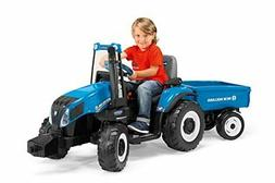 Peg Perego New Holland T8 Tractor & Trailer Blue