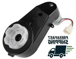 NEW Motor Gearbox 12V DC Traxxas and Power Wheels High Speed