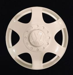 New Power Wheels 73517-2499 White Hubcap for Volkswagen New