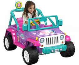Power Wheels Nickelodeon Shimmer Shine, Jeep Wrangler