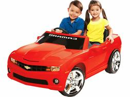 NPL Chevrolet Racing Camaro 12v Car Red Ride On With FM Radi