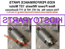 PAIR FASTER SPEED TUNED #7R MOTORS!! FOR 15T 16T 17T POWER W