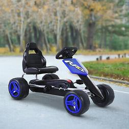 Pedal Go Karting Cart Kart Car Toy for Toddler Children Boys