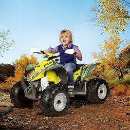 Peg Perego Polaris Outlaw ATV 12V Battery-Powered Ride-On To