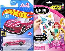 Pink Double Fun Barbie Hot Wheels car Edition Screen Time 20