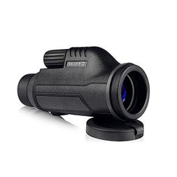 Pocket Monocular 10X42 Compact Telescope Waterproof Fogproof