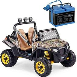 Peg Perego Polaris RZR 900 With 12 Volt Battery Charger - Ca