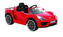 Rollplay 6 Volt Porsche 918 Ride On Toy, Battery-Powered Kid