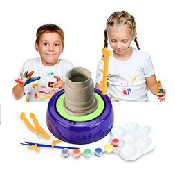 IAMGlobal Pottery Wheel, Pottery Studio, Craft Kit, Artist S