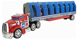 Hot Wheels Power Drop Transporter - Red/Blue