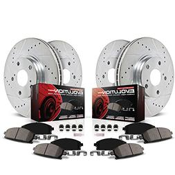 Power Stop K2385 Front and Rear Z23 Evolution Brake Kit with
