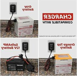power wheels 12v battery charger for gray