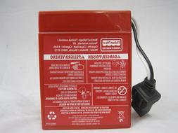 Power Wheels Battery 6 Volt Red Fisher Price Genuine 1 Year