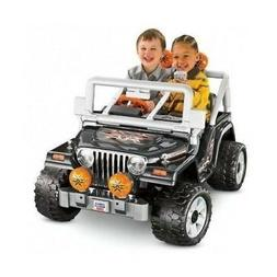 POWER WHEELS BATTERY TOY KIDS Jeep Electric Car Powered RIDE